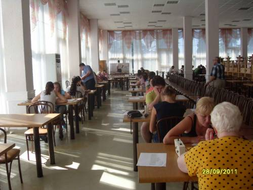 Третий тур чемпионата России по шашкам среди женщин