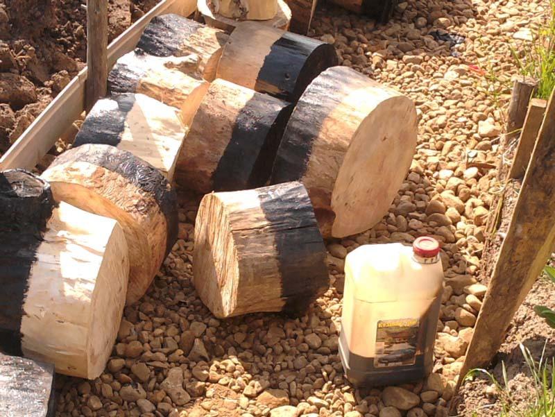 Шашки из дерева