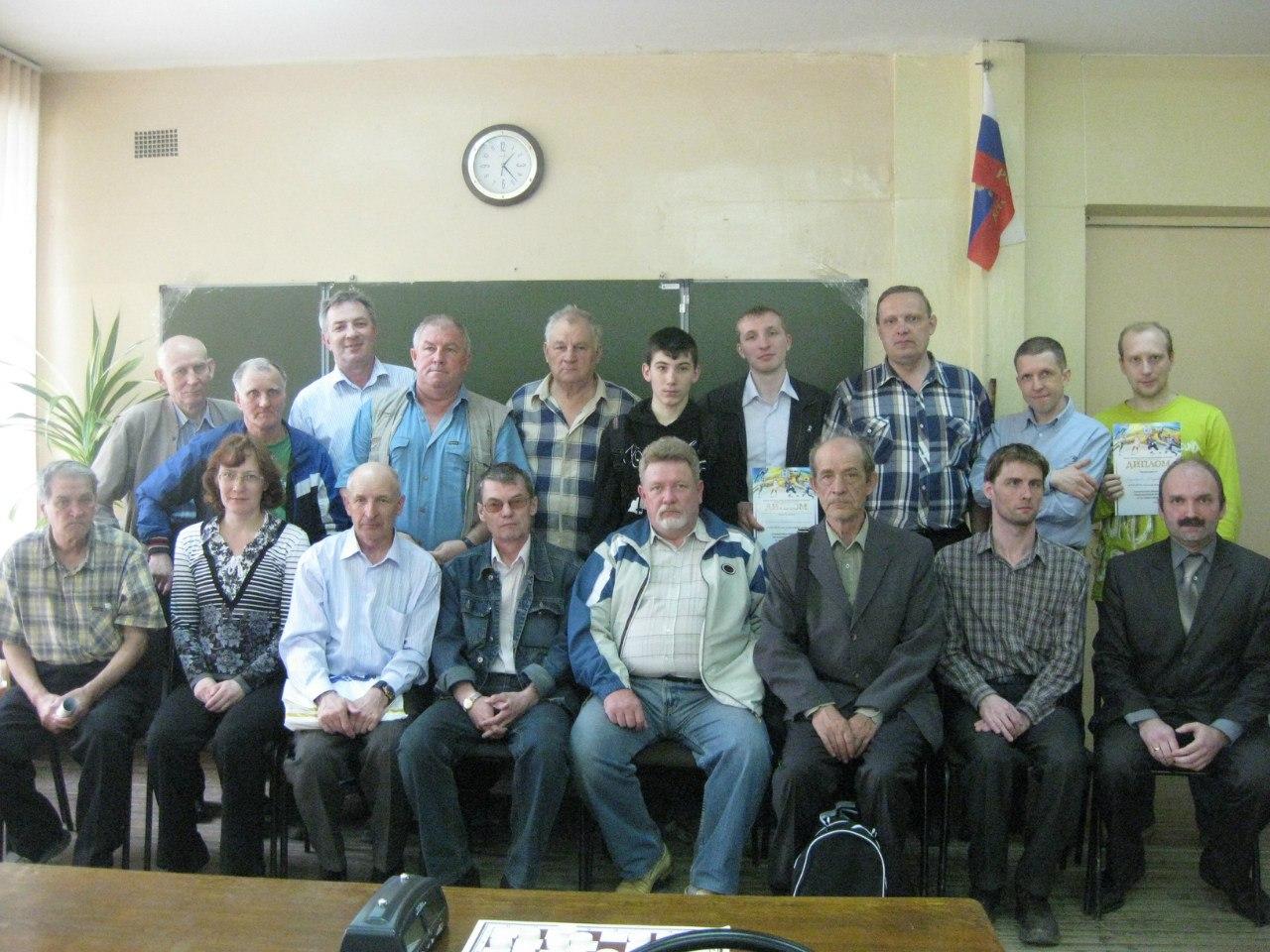 Командное первенство районов Нижегородской области - общее фото
