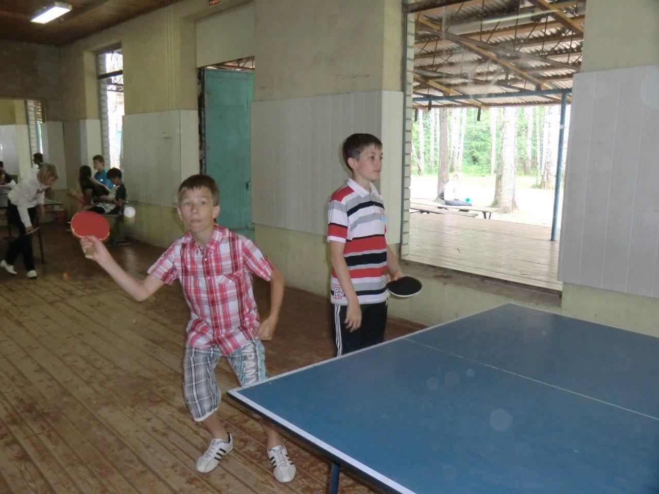 Фора 2012 (первая смена): настольный теннис