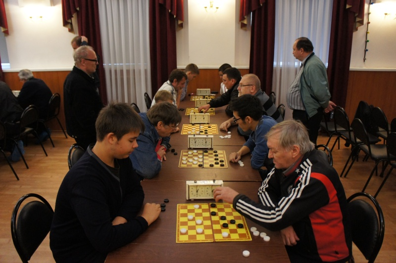 Чемпионат Москвы по блицу, русские шашки 2012