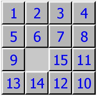 Выставили на свое место числа 9 и 13