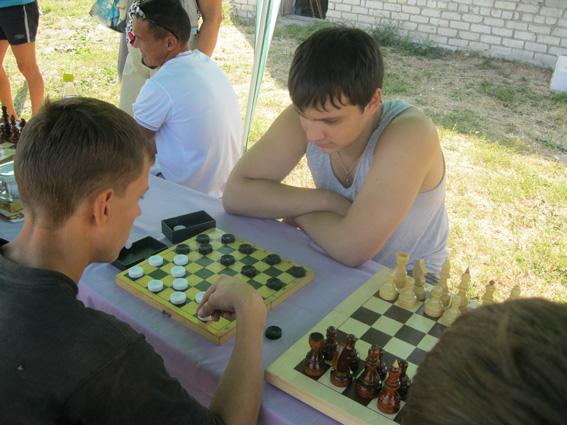 Шашки в Спасском районе