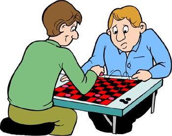 За шашечной доской