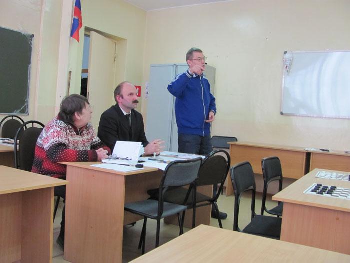 Конференция НФШ: выступает Александр Шибанов, г. Павлово