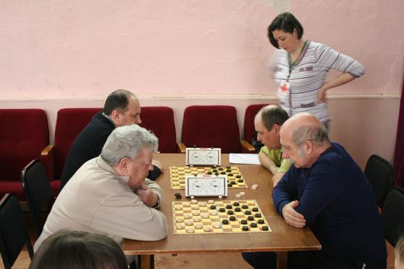 Чемпионат Уральского федерального округа по стоклеточным шашкам среди мужчин