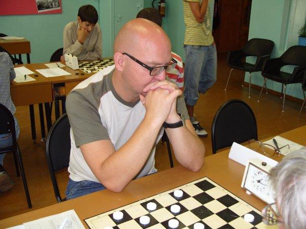 Владимир Скрабов на турнире в Тихвине, 2008 год