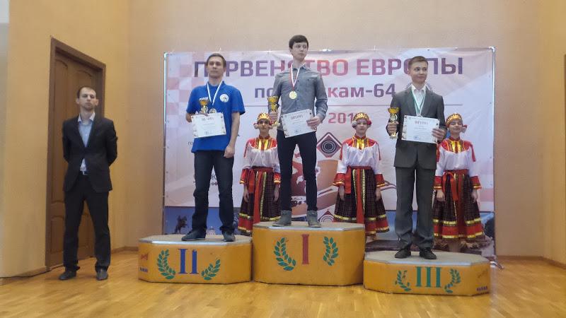 А.Агейкин - 1 место в блице