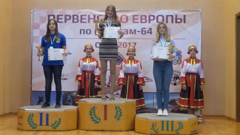 Е.Егорова - бронзовый призер в быстрой программе