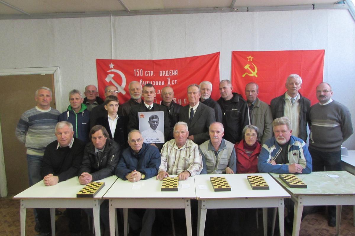 Участники турнира среди ветеранов 2017