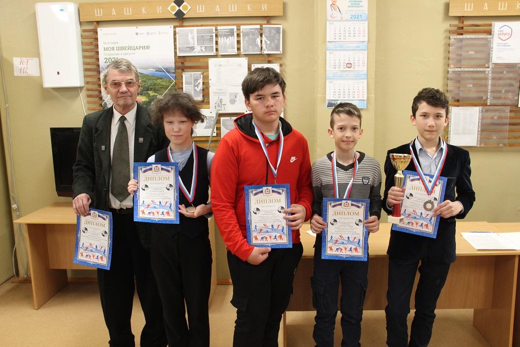 Чудо шашки 2021 команда школы № 3 (Павлово)