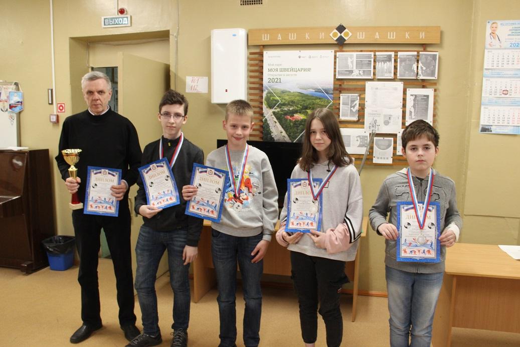 Чудо шашки 2021 команда школы № 44 (Н. Новгород)