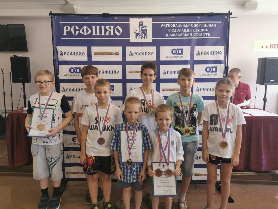 Призёры из Нижегородской области